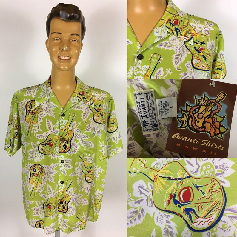 1cc4cff7 AVANTI RAYON Aloha Men's Hawaiian Shirt BNWT | Etsy