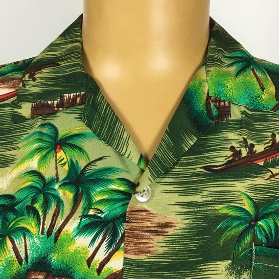 VINTAGE 1960s 1970s ALOHA RAYON Shirt - image 2