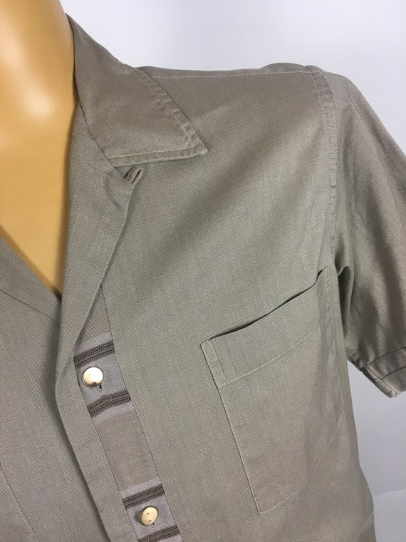 ORIGINAL 1950's MENS LEISURE Shirt - image 4