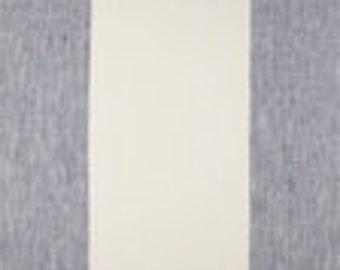 Linen Twin Queen King Coverlet/ Linen Coverlet/ Striped Coverlet/ Blue White Coverlet/ Bed Comforter