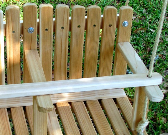 Enjoyable Cedar Double Swing Kids Wooden Swing Backyard Outdoor Toys Toddler And Baby Swing Tree Swing Old Fashioned Handmade Children Toys Theyellowbook Wood Chair Design Ideas Theyellowbookinfo