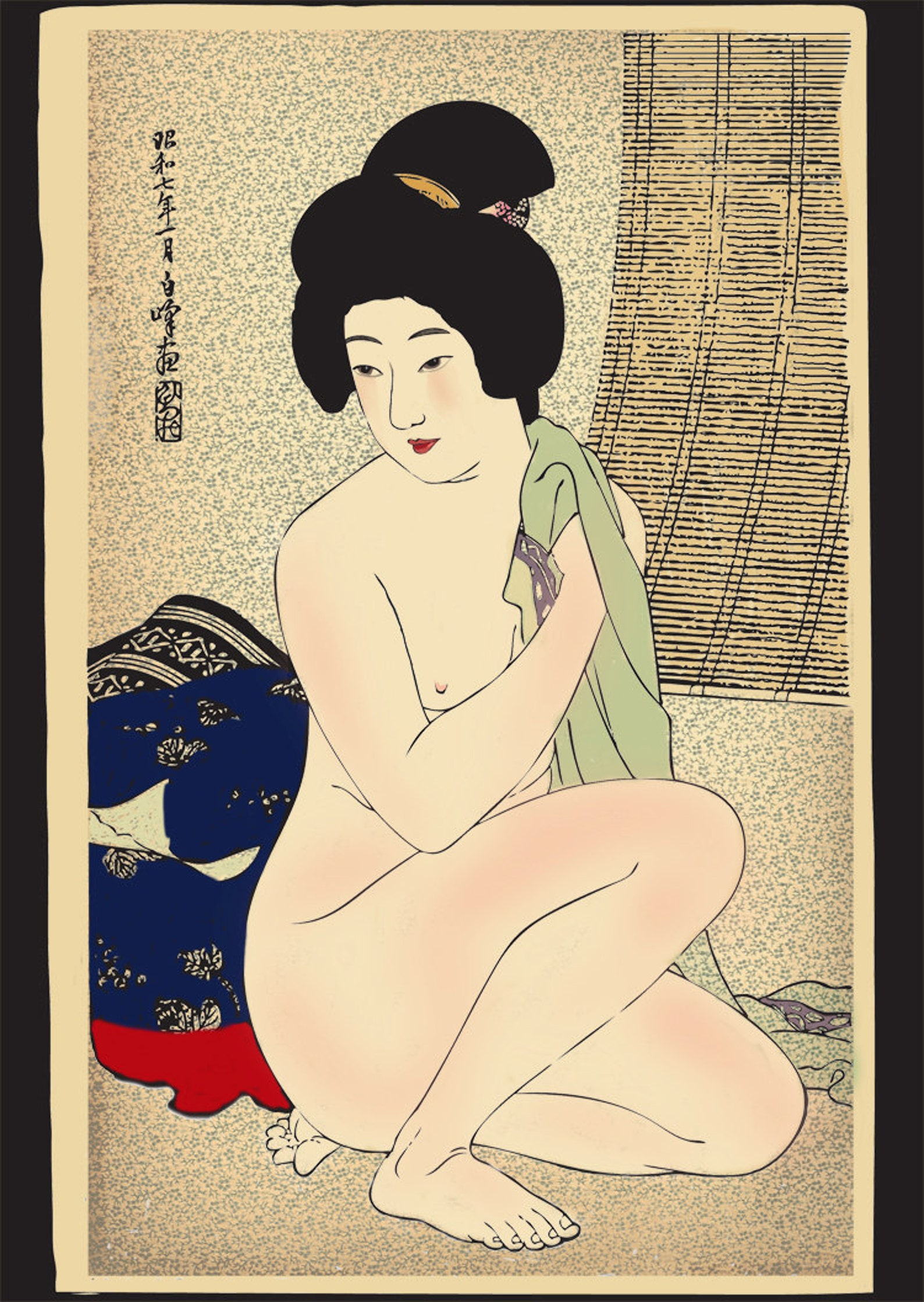Oriental show of sexy geisha in art of erotica on vimeo