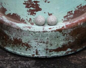 Silver Chain Post Earrings!