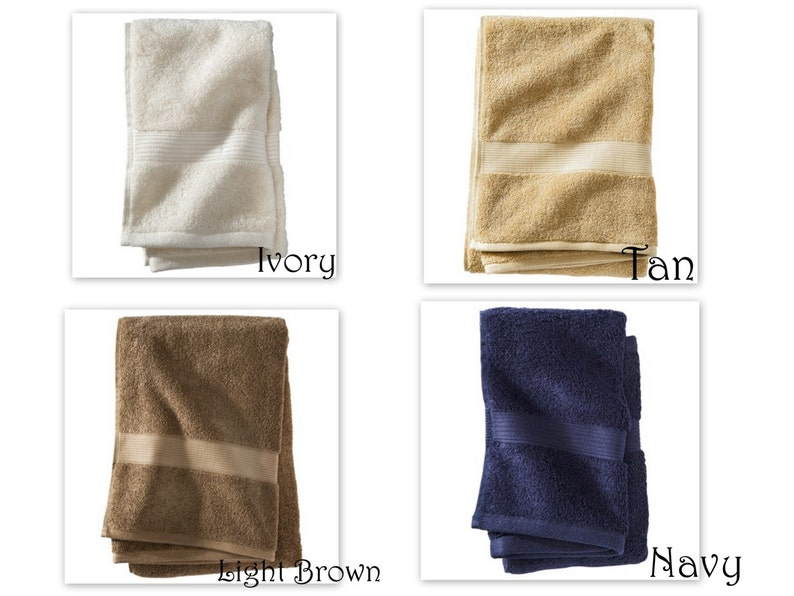 Beach Ocean Themed Bath Towels Anchor Bath Towels Hand Etsy