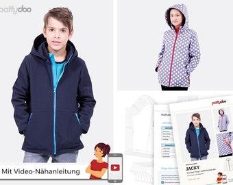 Sewing pattern softshell jacket Jacky pattydoo