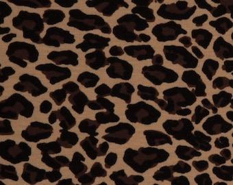 Jersey Leopard Leo Pattern Animal Pattern