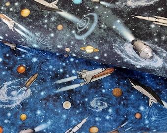 Cotton Space Space Rocket
