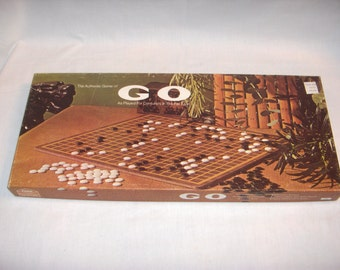 The Authentic Game of GO Played for Centuries in the Far East LOWE 1974