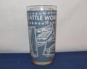 SEATTLE WORLD'S FAIR Souvenir Glass 1962