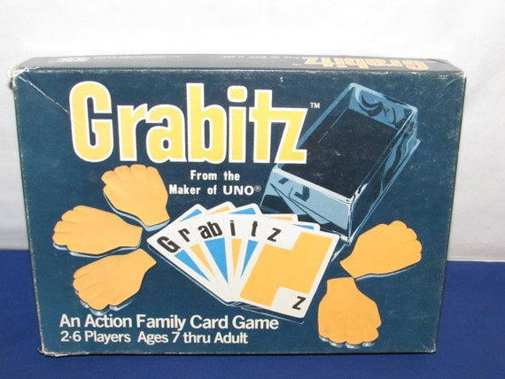 Grabitz Game Great Party Game Spoons 1979 Uno Vintage Etsy