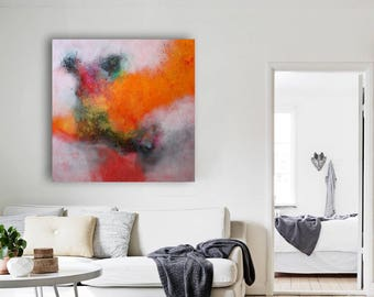 painting by artist Alex Senchenko / abstract artwork / art painting / abstract art / abstract painting / FREE SHIPPING. 100% Hand-Made.