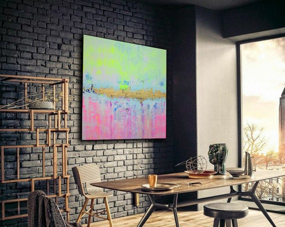 Original Abstract Painting ART . Extra Large Wall Art on Canvas, Original Abstract Paintings , Contemporary Art, Mdoern Living Room Decor