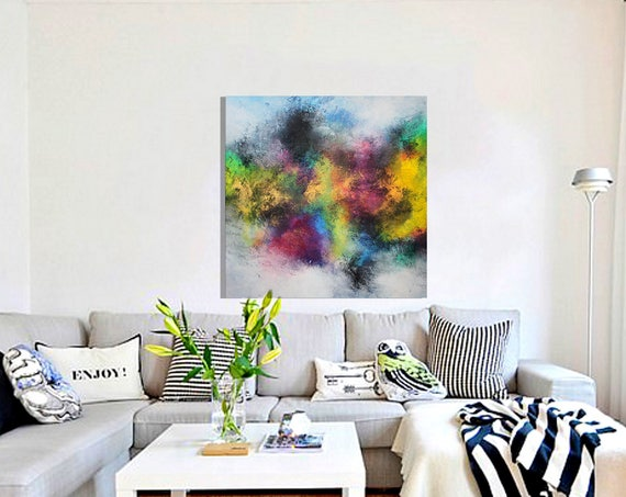 Large  Abstract Painting / Contemporary ART / Original abstract painting by Alex Senchenko . / abstract wall art / large abstract / abstract