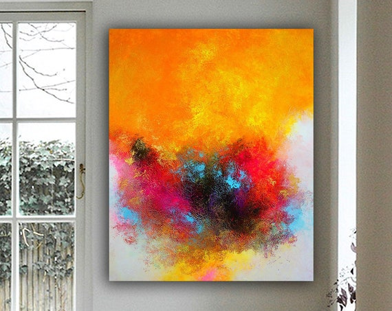 Abstract Wall Art Original Abstract Painting for Decor Contemporary Wall Art Modern Art Extra Large Original Abstract Painting on Canvas art