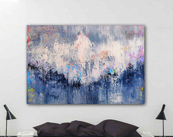 180x120cm. Large abstract painting . large artwork, modern art, wrapped canvas, abstract painting, original painting, abstract wall art
