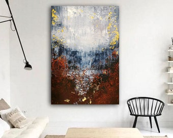 Large abstract painting . Contemporary ART. Modern painting, original art, wall art, Painting on Canvas, texture art painting, abstract art