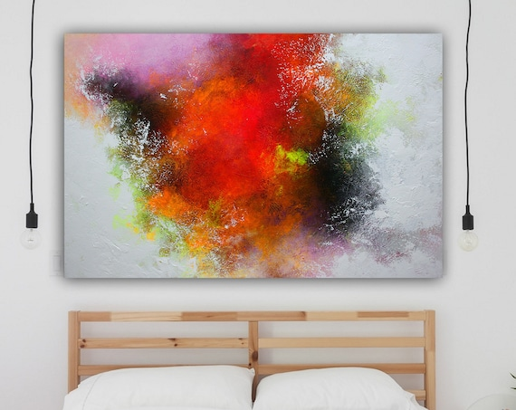 Large original abstract painting, Contemporary Art, Hand-painted Large wall Art, decor, large canvas art, abstract painting on canvas