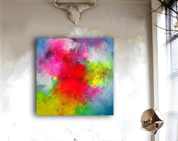 Wall Art Textured Painting Original Painting,Painting on Canvas Modern Wall Decor Contemporary Art, Abstract Painting, Canvas Wall art