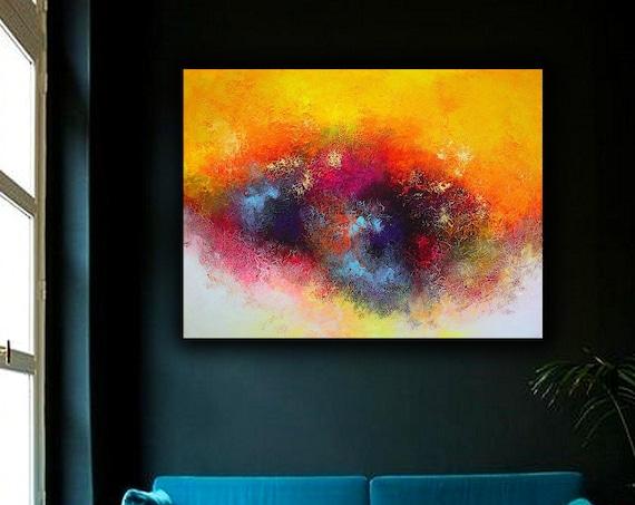 Abstract ART Wall Art Original Abstract Painting  Decor Contemporary Wall Art Modern Art Extra Large Original Abstract Painting on Canvas
