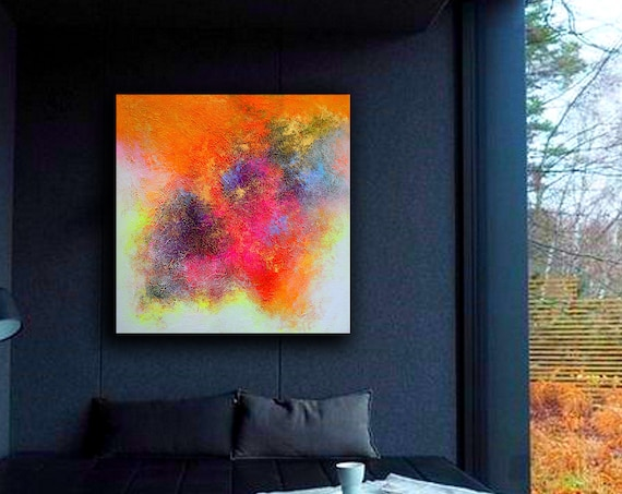 Abstract Painting, Large Painting on Canvas,Original Large Abstract Painting,Contemporary Art Modern Painting Large Painting, Abstract art