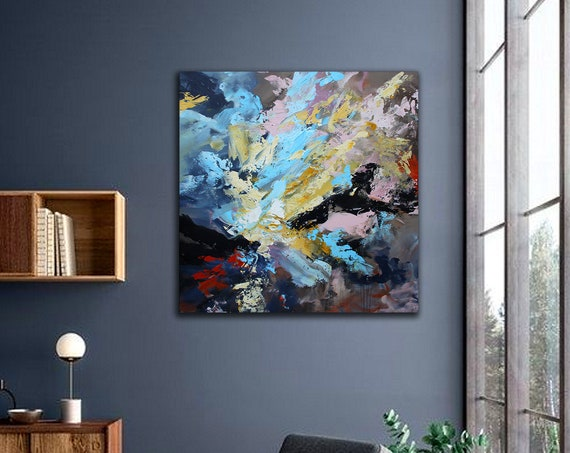100x100cm. Abstract Painting,Modern abstract painting,painting for home,acrylic paintings,abstract painting,acrylic textured painting , art