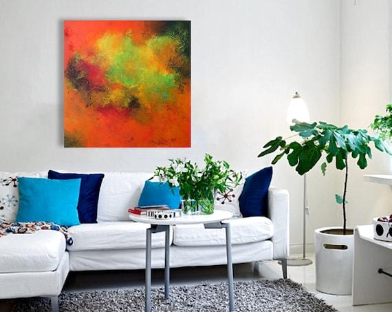 PAINTING art / abstract artwork / art painting / abstract art / abstract painting / large abstract art /  Artist : Alex Senchenko ©