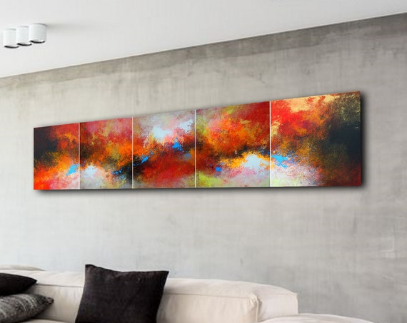 250x60cm. Large abstract painting. Contemporary ART. Modern, original, wall art . abstract painting on canvas . painting art for living room