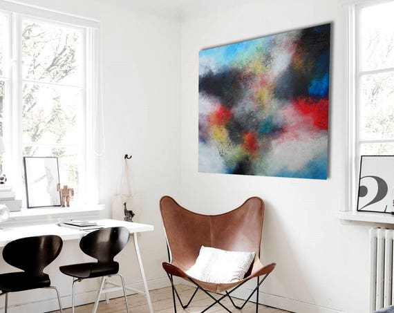 original painting . Abstract Contemporary ART . abstract painting by Alex Senchenko . abstract canvas . large canvas . abstract