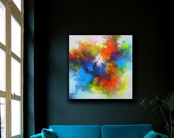 Large Abstract Art, Abstract painting on Canvas , Beautiful Abstract Art, Modern Wall Decor, Large Canvas Art, Original Painting, Office art