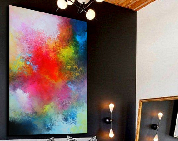 abstract paintings on canvas . large abstract wall art . original painting abstract .Extra Large Wall Art . Extra Large Painting . abstract