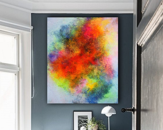 Large Wall Art Original Abstract Painting for Decor Contemporary Wall Art Modern Art Extra Large Original Abstract  art for living room