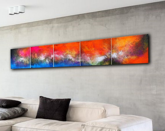 Large abstract painting by Alex Senchenko. Contemporary ART. Modern, original, wall art . abstract painting on canvas . large canvas art