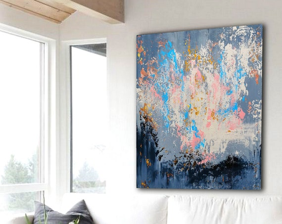 Large Wall Art Original Abstract Painting for Decor Contemporary Wall Art Modern Art Extra Large Original Abstract Painting on Canvas
