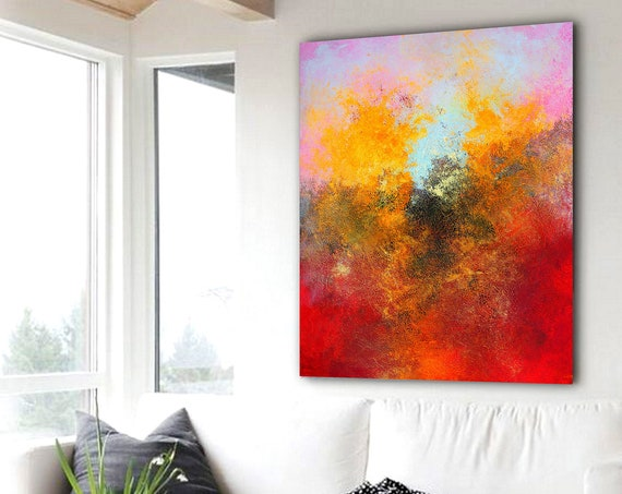 abstract art / home decor art / abstract / abstract painting / wall art / painting / large painting / contemporary art / acrylic painting