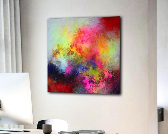 Original Abstract Painting. Large Abstract Painting For Living Room. Large Textured Wall Art. Modern Abstract Painting. Original Wall Art.