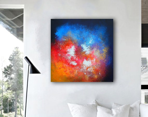abstract painting / abstract art / abstract painted / abstract wall art / abstract painting original / modern abstract / canvas painting