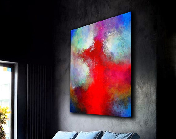 Large abstract painting . Contemporary ART. Modern, original, wall art. abstract wall art , abstract , large canvas , abstract art, art
