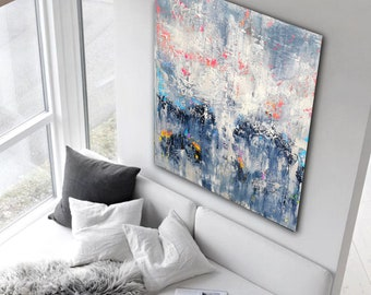 180x120cm. Large abstract painting . large artwork, modern art, wrapped canvas, abstract painting, original painting, large wall art