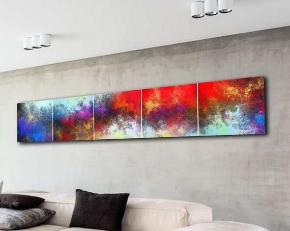 XXLarge abstract painting by Alex Senchenko. Contemporary ART. Modern, original, wall art . 100% Hand-Made. FREE SHIPPING
