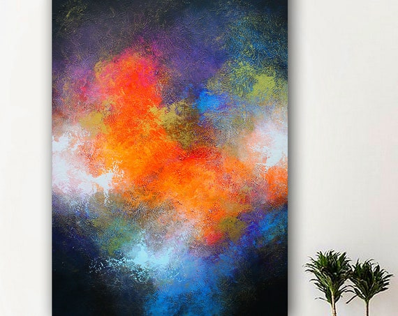 Large Abstract Painting,Modern abstract painting,painting,office wall art,original abstract,abstract painting,original painting,moder art