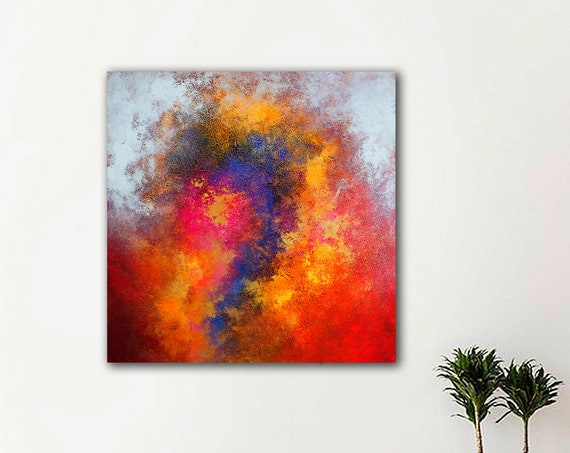 Abstract Painting ART . Extra Large Wall Art on Canvas, Original Abstract Paintings , Contemporary Art, Mdoern Living Room Decor, Office art
