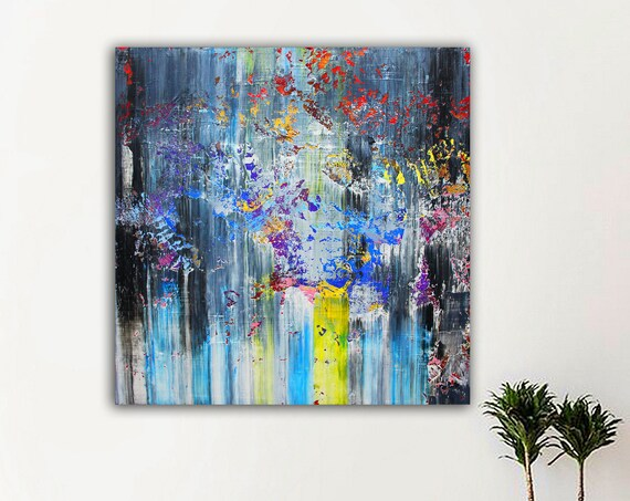 100x100cm. Abstract Painting, Modern abstract painting,painting for home,acrylic paintings,abstract painting,acrylic textured painting art