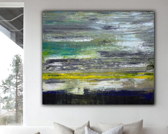 Abstract ART Wall Art Original Abstract Painting  Decor Contemporary Wall Art Modern Art Extra Large Original Abstract Painting on Canvas