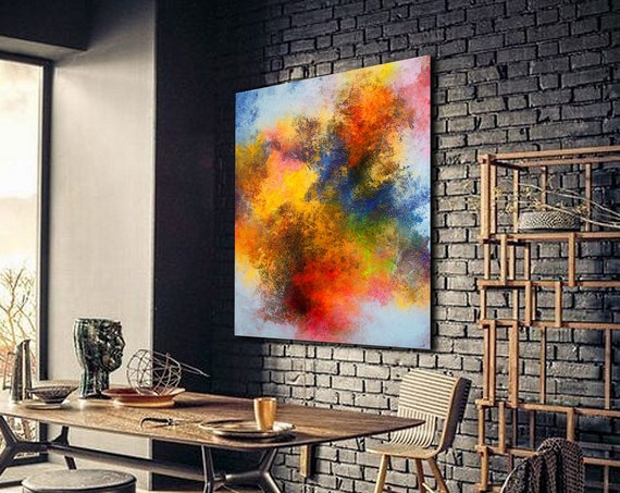 Large Wall Art Original Abstract Painting for Decor Contemporary Wall Art Modern Art Extra Large Original Abstract Painting on Canvas , ART