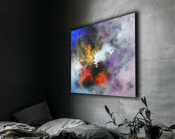Abstract ART. Large Abstract painting . Original abstract painting by Alex Senchenko . abstract painting . abstract . large abstract
