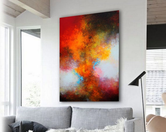 extra large  abstract painting , original painting , Contemporary ART. Modern, abstract wall art , abstract , large canvas , large painting