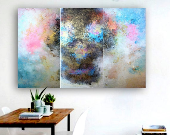 Large abstract painting by Alex Senchenko. Contemporary ART. Modern, original, wall art, original abstract painting, large abstract art .