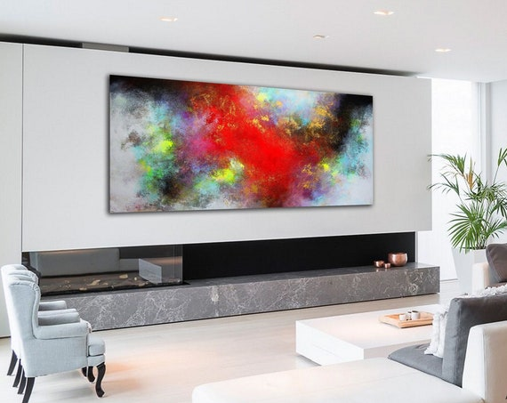 200x100cm / original abstract painting / modern paintings on canvas / abstract painting / large wall art / modern abstract canvas painting