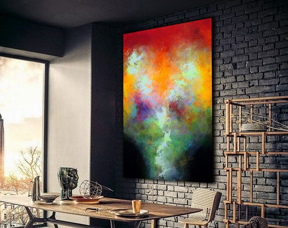 big painting , abstract painting, Acrylic painting, Wall Decor, wall hangings, acrylic.  Large painting . large modern art paintings, Luxury
