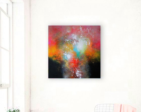 abstract painting / abstract art / original abstract / original painting abstract minimalist / large painting / paintings on canvas / art